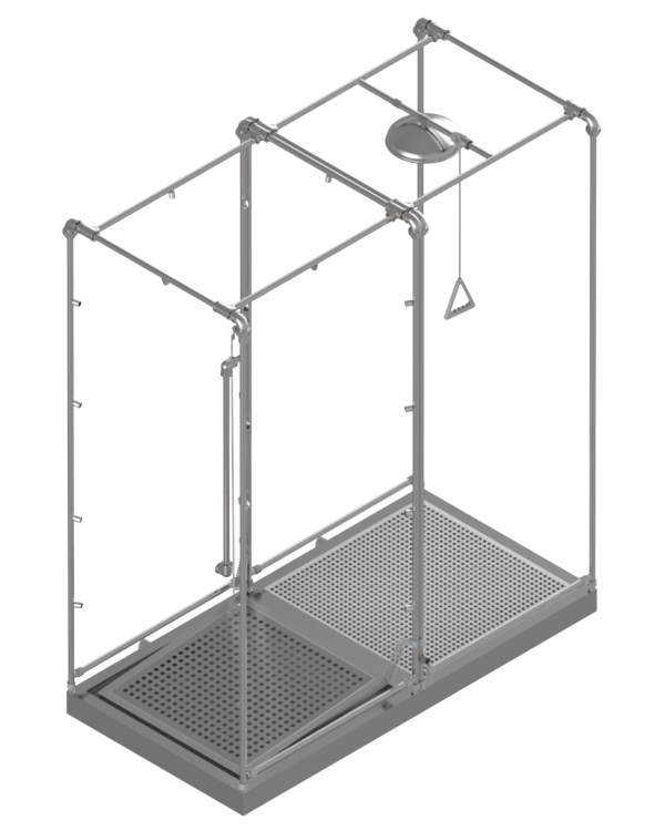 Was Ist Deco decontamination units cbrn solutions istec type deco işçi